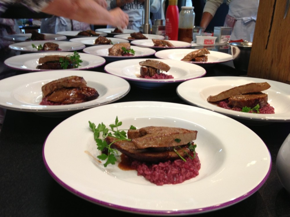 Veal Calf Leg and Liver