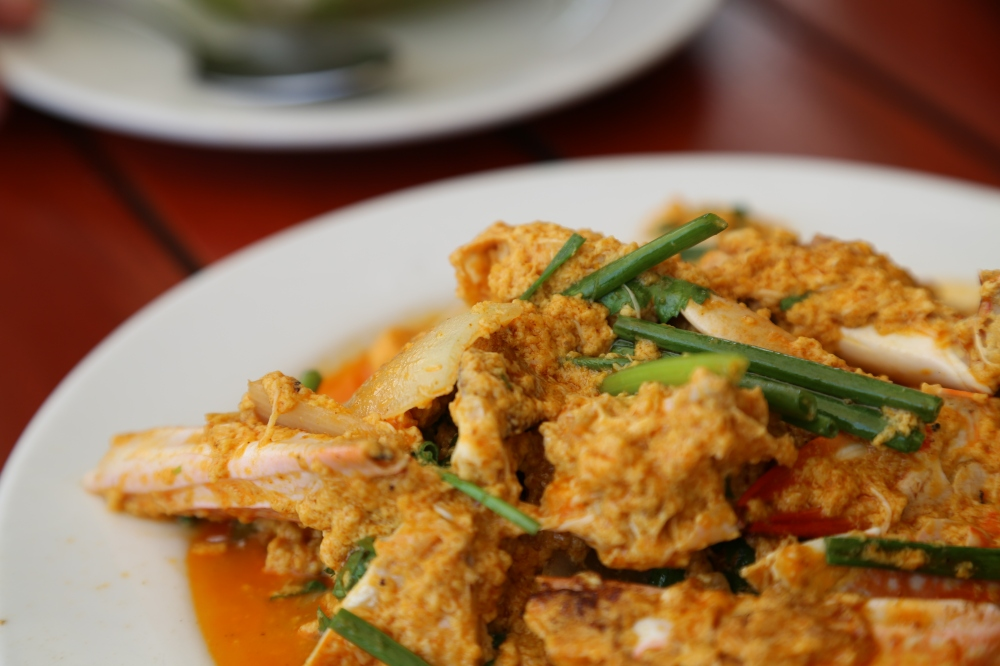 Thai Curry Crab