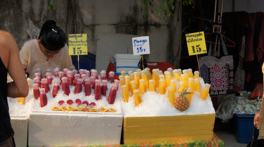 Thai fruit juices