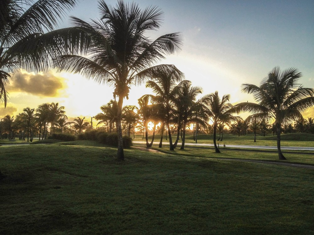Sunrise in Puerto Rico
