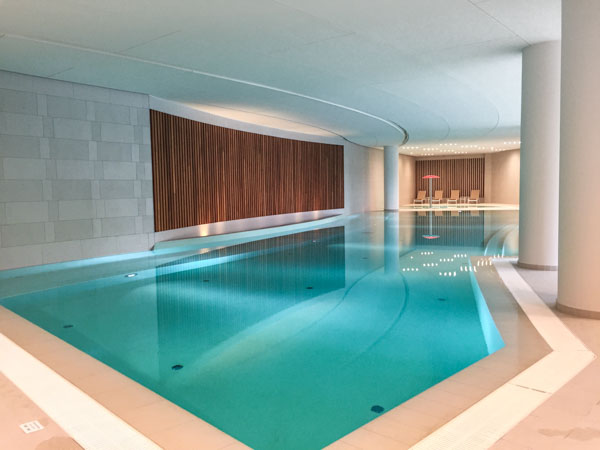 Indoor Pool at the Sheraton Dubrovnik