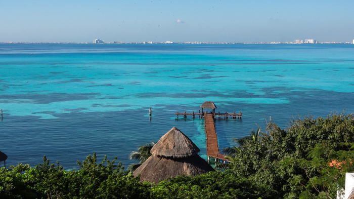 Isla Mujeres Turquoise waters