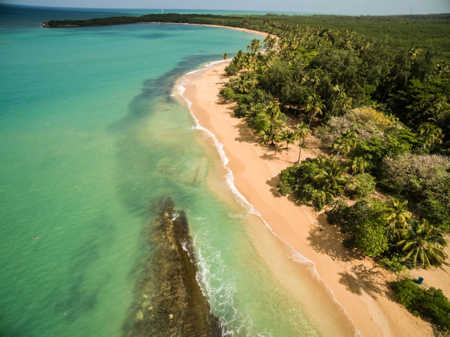 Puerto Rico's northern beaches