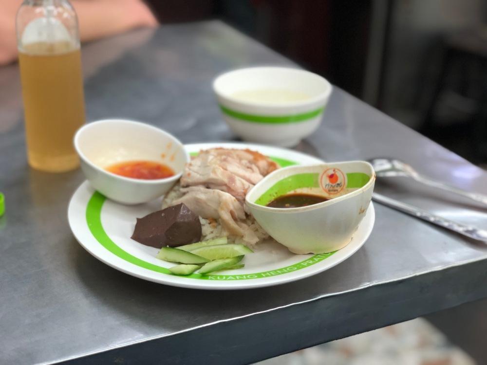 Chicken Rice in Bangkok