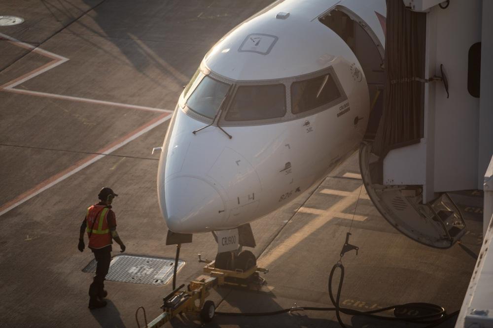 Sleep better on airplanes